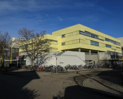 Portfolio IEP: Generalsanierung Schulzentrum Gerastraße 6 in München - neu