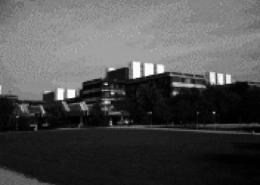Portfolio IEP: Sanierung der Gefahrenmeldeanlagen in der Fakultät der Chemie in Garching, einschl. Versorgungsgebäude - schwarz-weiß