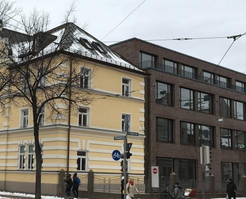 Portfolio IEP: Bildungszentrum für die Volkshochschule München, Einsteinstraße 28