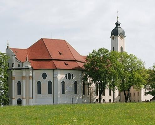 Portfolio IEP: Brandschutz Wieskirche in Steingaden