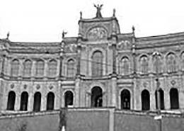 Portfolio IEP: Brandschutzmaßnahmen Maximilianeum, Bayerischer Landtag München - schwarz-weiß