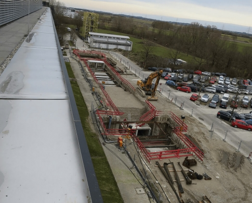 Portfolio IEP: Erschließung TUM Garching, Nord - Ost Hochschulgelände