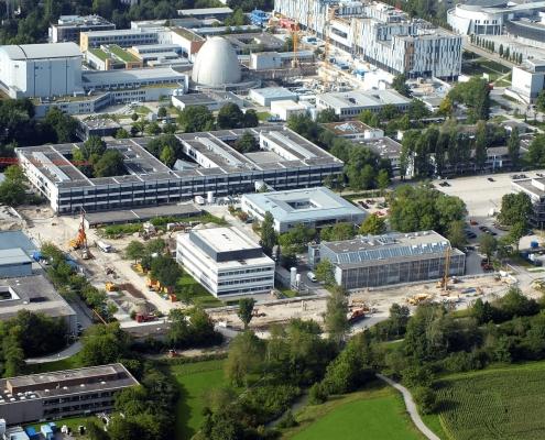 Portfolio IEP: Erschließung TUM Garching, Ost Hochschulgelände, Start der Baumaßnahmen