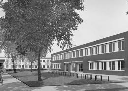 Portfolio IEP: Erweiterung, Umbau und Sanierung Grundschule an der Grafingerstraße in München - schwarz-weiß