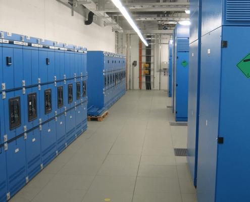 Portfolio IEP: Leibniz Rechenzentrum Dynamische USV und zugehörige NSHV