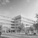 Portfolio IEP: Neubau Berufsbildungszentrum, 3-fach Sporthalle, Haus f. Kinder, Bürgerhaus, TG, Ruppertstraße 5 - schwarz-weiß