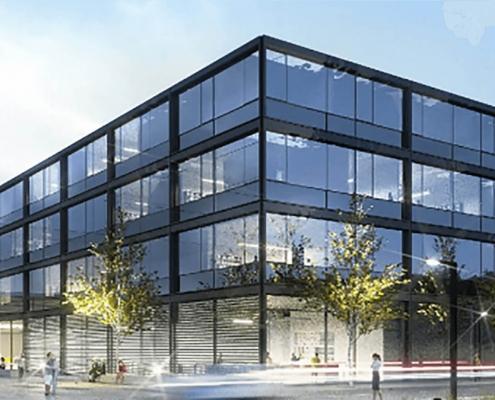 Portfolio IEP: Neubau der Fakultät der Elektro- und Informationstechnik der TUM in Garching, 1.BA