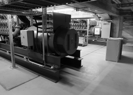 Portfolio IEP: Neubau Katalysezentrum an der TU Garching - schwarz-weiß