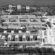 Portfolio IEP: Neubau Leibniz Rechenzentrum mit Instituts- und Hörsaalgebäude Luftansicht - schwarz-weiß