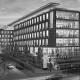 """Portfolio IEP: Neubau Verwaltungsgebäude """"Altezza"""" Barthstraße 4, in München - schwarz-weiß"""